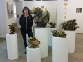 Plant Cure_Susan Rostow with her work