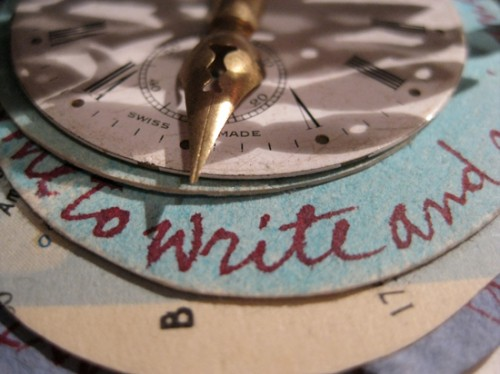 Writing Time, b, Elisa Pellacani