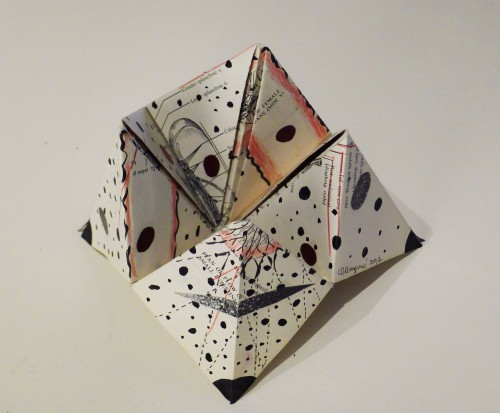 Origami #3 open