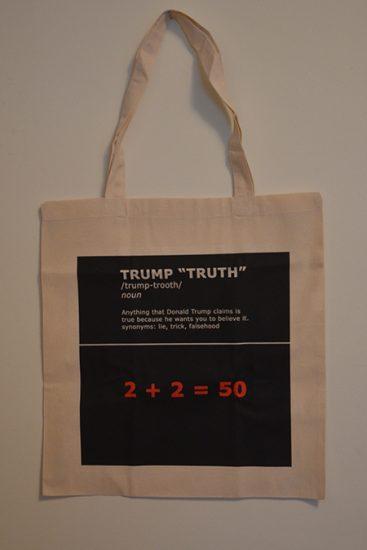 Trump Truth Protest Bag Ann Reichlin